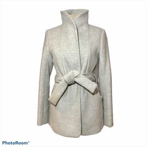 Aritiza Wilfred Cocoon Coat Wool Cashmere Grey